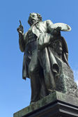 Bronze statue of Ary Scheffer — Stock Photo