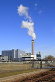Refuse incinerator plant — Stock Photo