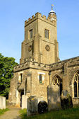 Typical English village church — Stock Photo
