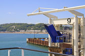 Bording at Dover harbour england — Stock Photo