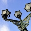 Ornate lamppost in Alkmaar — Stock Photo