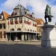 Square in Alkmaar centre Holland — Stock Photo