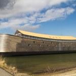 Full size wooden replica of Noah's Ark — Stock Photo #22559095