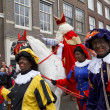 Sint and Zwarte Piet — Stock Photo