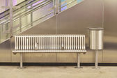 Empty metro station — Stock Photo