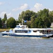 Stock Photo: Waterbus on river Merwekade