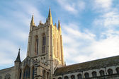 Bury St Edmunds cathedral tower — Stock Photo