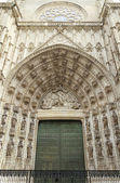 Gate to Sevilla Cathedral — Stock Photo