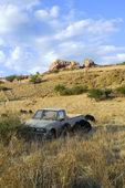 Abandoned pick-up truck — Stock Photo