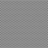 Cerchio senza giunte perforata texture griglia carbonio — Vettoriale Stock