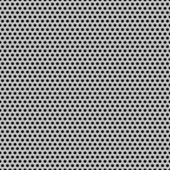 Seamless Circle Perforated Carbon Grill Texture — Vettoriale Stock