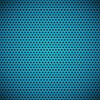 Blue Seamless Circle Perforated Carbon Grill Texture - Векторная иллюстрация