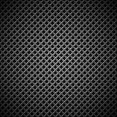 Background with Seamless Black Carbon Texture — Stock Vector