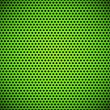 Green Seamless Circle Perforated Grill Texture - Stock Vector