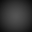 Stock Vector: Background with Seamless Black Carbon Texture