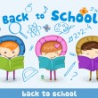 Back to school — Stock Vector #12044130