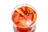 Stewed fruit, cinnamon, star anise — Stock Photo