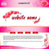 Webové stránky — Stock vektor