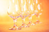 Glasses for cocktail — Stock Photo
