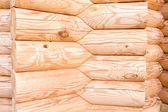 Wooden hause. sectioned log. — Stock Photo