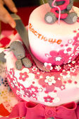 Birthdays cake — Stock Photo
