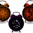 Halloween clocks. — Stock Photo #12315059