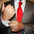 Business man with red tie — Stock Photo #25922955