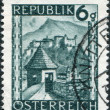 Old stamp - Stock Photo