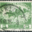 Stock Photo: Old stamp