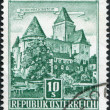 Stock Photo: Stamp printed in Austria, is shown Burg Heidenreichstein, circ1957
