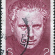 Royalty-Free Stock Photo: A stamp printed in Austria, is dedicated to the 100th anniversary of Max Reinhardt, Theatrical Director, circa 1973