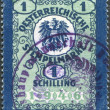 A stamp printed in Austria, the fiscal mark, coat of arms, circa 1946 — Stock Photo