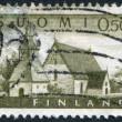 FINLAND-CIRCA 1963: A stamp printed in the Finland, shows a Church at Lammi, circa 1963 — Stock Photo #12086529