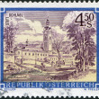 AUSTRIA - CIRCA 1984: A stamp printed in Austria, is shown Schlagl Monastery, circa 1984 - Stock Photo