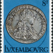 LUXEMBOURG - CIRCA 1981: A stamp printed in Luxembourg, shows Emperor Joseph II 12 sol, 1789, circa 1981 - Stock Photo
