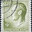 LUXEMBOURG - CIRC1975: stamp printed in Luxembourg, shows Grand Duke Jeof Luxembourg, circ1975 — Stock Photo #12086917