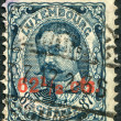 Stock Photo: LUXEMBOURG - CIRC1906: stamp printed in Luxembourg, shows William IV, Grand Duke of Luxembourg, (overprint 1912), circ1906