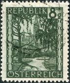 旧邮票 — 图库照片