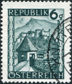 Old stamp — Stock Photo