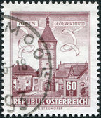 Old stamp — Stockfoto