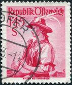 Eski pul — Stok fotoğraf
