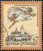 Retro stamp — Stock Photo