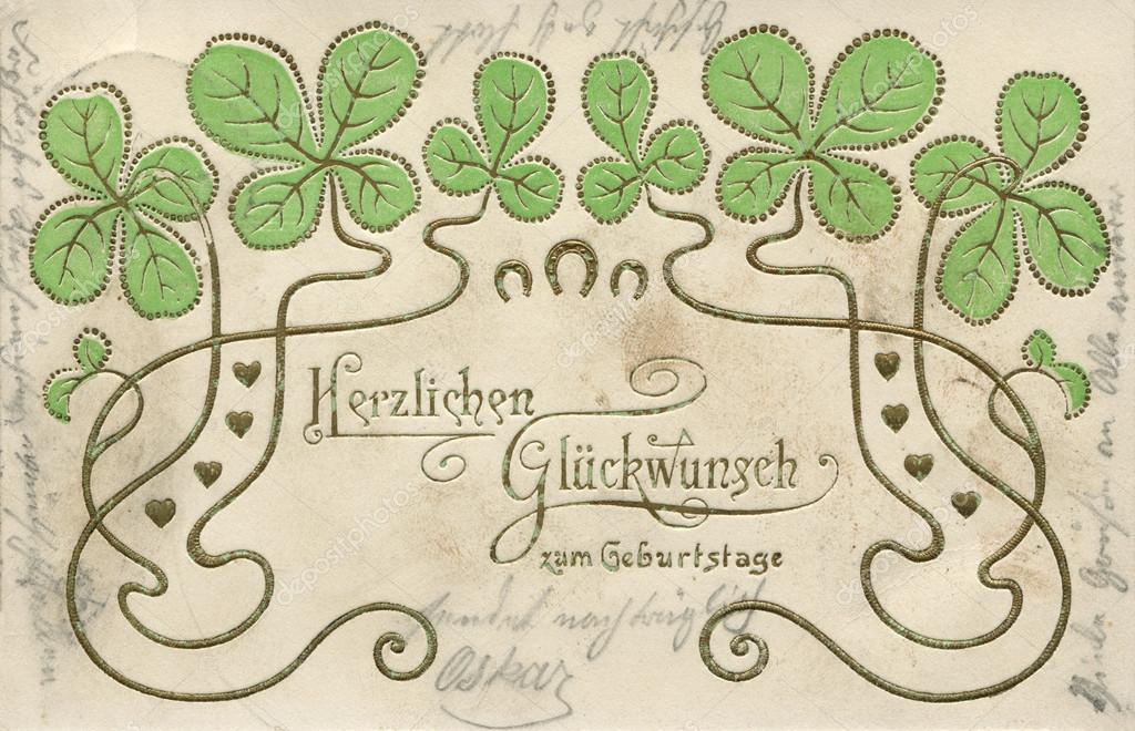 Поздравление женщин на немецком языке