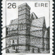 A stamp printed in the Ireland shows Cormac's Chapel, circa 1982 — Stock Photo