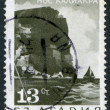 A stamp printed in the Bulgaria, shows a cape Kaliakra, circa 1968 — Stock Photo