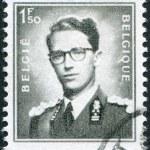 A stamp printed in Belgium, shows Baudouin I of Belgium, circa 1952 — Stock Photo #12162081