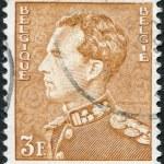 ������, ������: A stamp printed in Belgium shows Leopold III of Belgium circa 1951