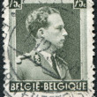 Постер, плакат: A stamp printed in Belgium shows Leopold III of Belgium circa 1938