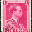 Постер, плакат: A stamp printed in Belgium shows Leopold III of Belgium circa 1936