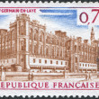 A stamp printed in France, shows the Saint-Germain-en-Laye, circa 1967 — Stock Photo